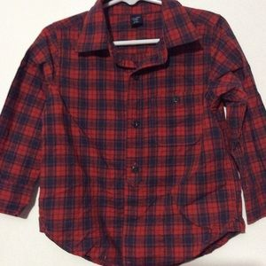 boys button down shirt for the holidays.